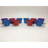 UNIQUE POT SET OF 10 Pcs. MULTY COLORS