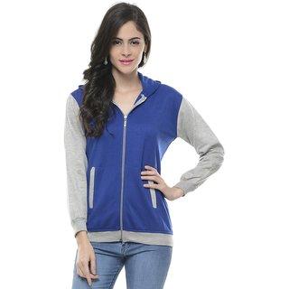 Lavennder Cotton Burshed Sweat Shirt Free Size Fit S To L 5814