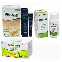 Obicure Fat Burner, Anti Cellulite Gel, Green Tea And Fat Loss Protein