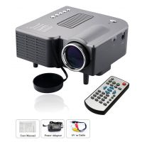 UNIC 48 Lm LED Corded Portable Projector(Black)