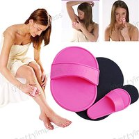 Hair Removal Pads Exfoliating For Face And Body 1 Set For Women And Men.