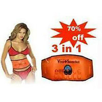 Original ABslimming 3 In 1 Magnetic Vibration Plus Sauna Slimming Belt