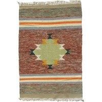 Dorahomes Handmade Multi Carpet Mat -(BA-633)