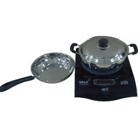 Birla Lifestyle, Induction Cooktops With 2 Pots,BEL-1101IC With 2 Pots