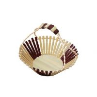 Wooden Fruit Basket With Handle