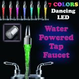 Gadget Hero's 7 Color's Changing LED Tap Faucet Glow For Bathroom Kitchen Automatic No External Power Needed