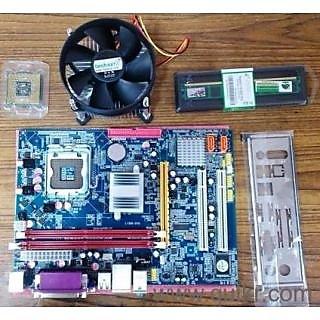 Intel Core 2 Due 2.8GHZ+G31 Motherboard+Ram DDR2 1GB (1year warranty)