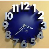 [BLUE] Creative Real 3D Number Analog Wall Clock