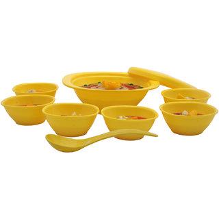 Incrizma 9 Pcs Pudding Set Yellow - 7101Y