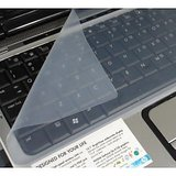 "Pack Of 3 Silicon Dustproof & Waterproof Laptop Keyboard Protective Film For 15"" & 15.6"""