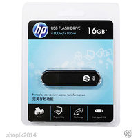 HP V100w 16 GB USB Flash Drive 16GB