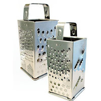 8 In 1 Grater Stainless Steel Four Sided Grater