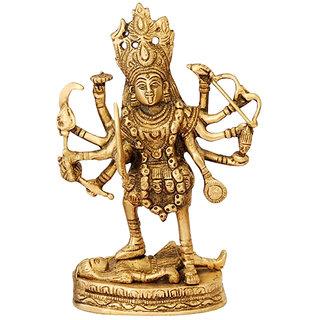 Brass Goddess Kali