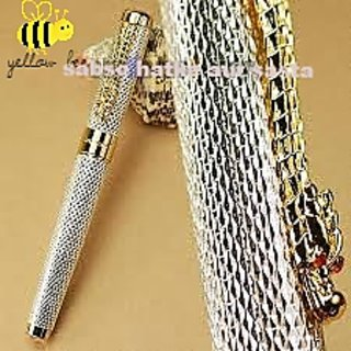 Original Branded Jinhao Silver Dragon Roller Pen Free Box