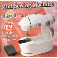 Portable Mini Sewing Compact 4 In 1 Adapter Foot Pedal Machine As Seen TV Gift