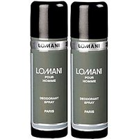 Lomani Pour Homme Deo Pack Of 2