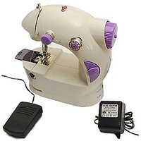 Mini Portable Sewing Machine With Free Adapter + Alluma Wallet Free
