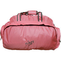 Donex Light weight D Shape duffle bag in Pink Color - RSC00298