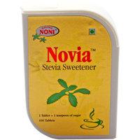 Novia Stevia Herbal Zero Calorie Sweetner 100 Tablet - Pack Of 3