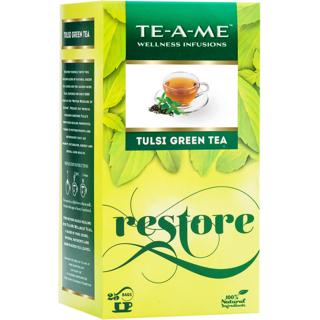 TE-A-ME Tulsi Green,  25 Piece(s)/pack Natural Tulsi