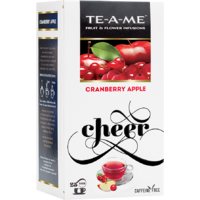 TE-A-ME Cranberry Apple,  25 Piece(s)/pack  Cranberry Apple Infusion