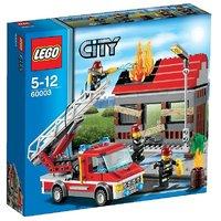 Lego- City Fire Emergency Building Set (232956)
