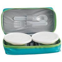 Milton Mini Lunch Box Set With Carry Bag - 2 Pcs