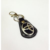 Leather Key Chain Toyota