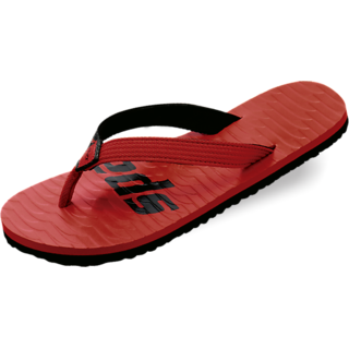 Sparx Slipper For Men In Red Black Coloured