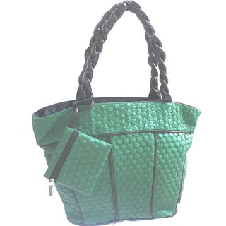 Trendy Ladies Handbag + Free Wristlet Purse
