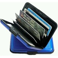 Credit Debit ATM Card Money Holder Unisex Wallet Water Resistance Blue Colour