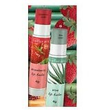 Avon Natural Lip Balm- Green Tea & Strawberry(Set Of 2 Lip Balms)