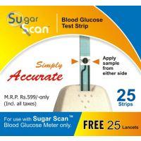Thyrocare Sugar Scan Strips (500 Strips + 500 Lancets)