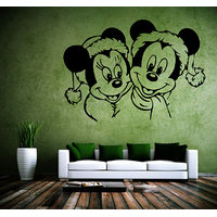 Decor Kafe Mickey & Minnie Wall Decal -(Medium)