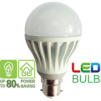 LED Bulb 5 Watt  White (Set Of 3 Pcs)
