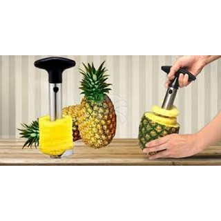 STAINLESS STEEL PINEAPPLE CORER- SLICER