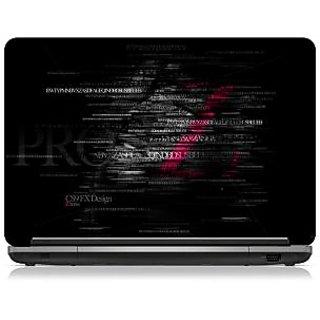 Brandpro Typography Z-series Laptop Skin-15.6 inch