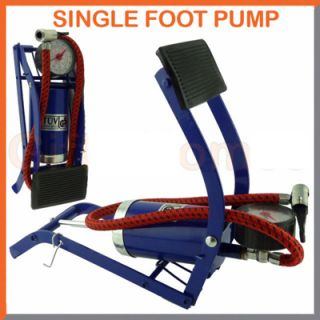 FOOT PUMP PRESSURE GAUGE AIR INFLATOR CAR CYCLE BIKE TYRE available at ShopClues for Rs.399