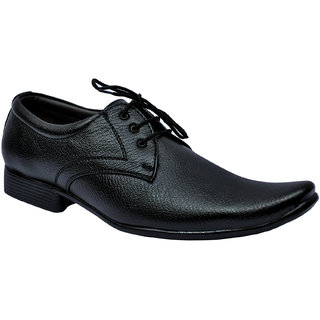 Men's Leather Formal Shoes Black