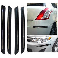 DGC Chrome Bumper Scratch Protectors For Mahindra Xylo 7-Seater