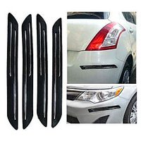 DGC Double Chrome Bumper Scratch Protectors For Mahindra Scorpio 9-seater
