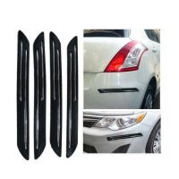 DGC Double Chrome Bumper Scratch Protectors For Mahindra Xylo 7-Seater