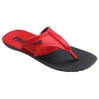 Vkc Mens Red  Black Slippers