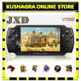 Jxd V1000 Mp5 Mp4 Mp3 Music Game Player Console 4.3 Tftcamera Fm Black 2500 Game Free With Fm Av In Out 4gb Memory