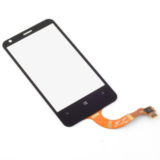 Display Touch Screen Digitizer Glass For Nokia Lumia 620 - Black