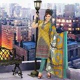 Paris Beauty Cotton Elegant Designer Dress Material/ Unstitched Salwar Suit D.No 9018