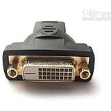 DVI DVI Female (24+1) Pin Por To HDMI Male Converter Home Theatre Equipment With DVI Port To Connect Hdmi