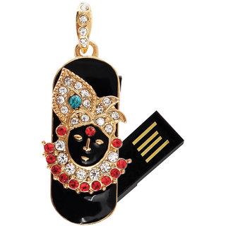 Enter Divine Pen Drive 8 GB-Shri Krishna