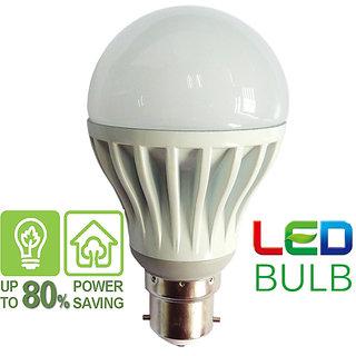 LED Bulb 3 Watt  White (Set of 5 pcs)