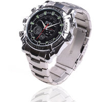 4 GB Waterproof FULL HD 1080P IR Night Vision Spy Watch Camea Covert CCTV DVR